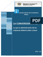 Conversion a IFRS