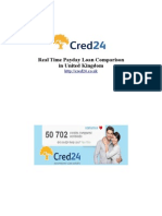 Real Time Payday Loan Comparison in United Kingdom