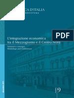L'integrazione economica tra il Sud e il Mezzogiorno Banca d'Italia