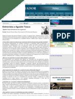 Entrevista a Agustín Tosco