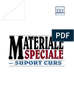 Materiale Speciale Support Curs 2012