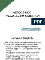 Modul or - Metode Modi