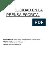 Informe La Publicidad en La Prensa Escrita