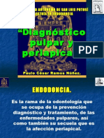 diagnóstico pulpar y periapical uaslp