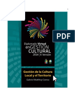 Gestion de Culturas Locales y Territorios