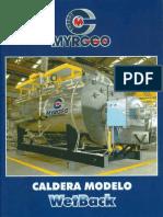 Calderas Myrggo Modelo WET-BACK Espanol