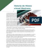 La Historia de Himno Nacional Mexicano