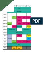 Drain Schedule 14.15
