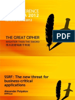 SSRF the New Threat for Business Critical Applications From RSA