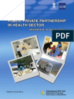 ADB Initiative - Public Private Partnership in Health Sector