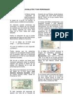 Los Personajes de Los Billetes Peruanos