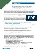 Performance Measurement Management