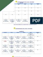 Calendário Direito Civil 2014.2 -Esma