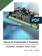 7.03.00.0038 - Manual Viaweb VW16z e VW10z v2.70 r1.60anatel Rel