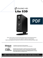Dune HD Lite 53D Quick Start Guide