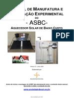 Manual de Aquecedor Solar Asbc-maio2010-V3-0