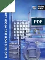 Cast Iron Slide Gates-HYDROGATE