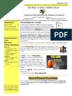 Newsletter September 2