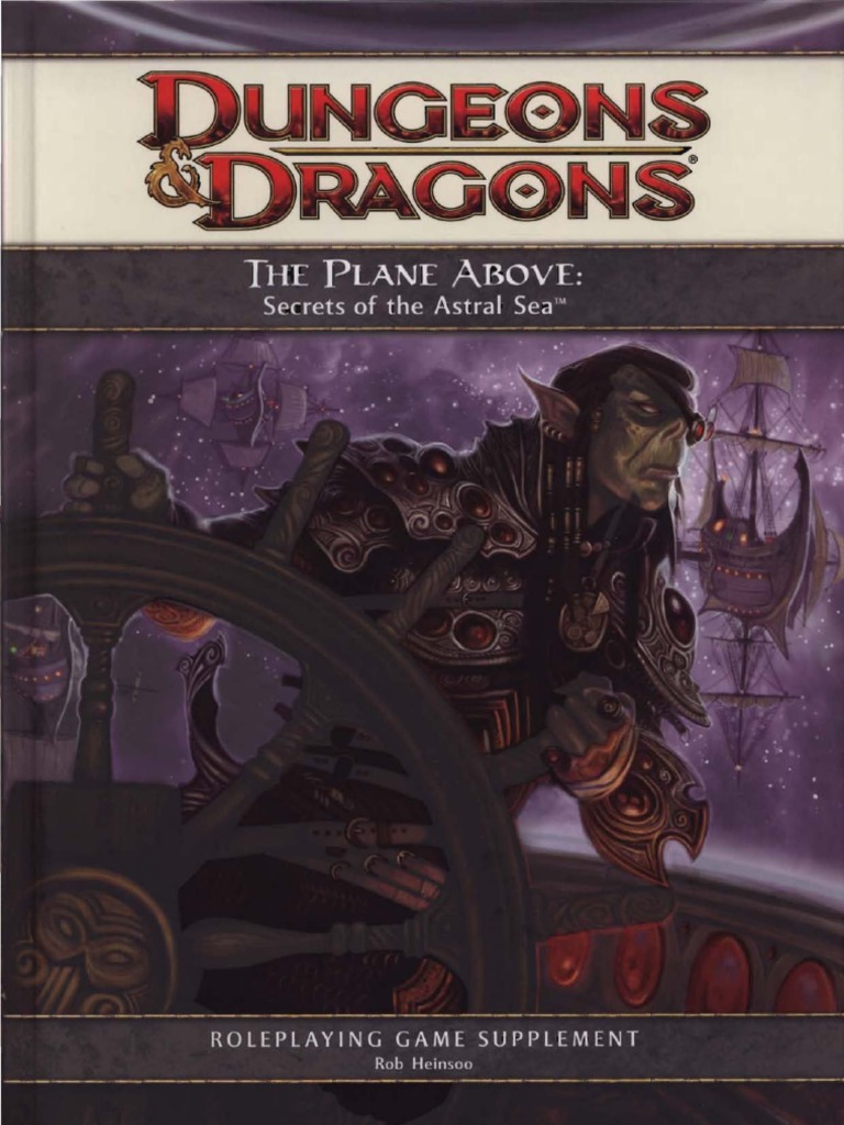 D&D 4E the Plane Above | Dungeons & Dragons | Wizards Of The Coast