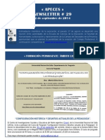 APECES - Newsletter No 29