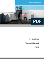 PLAXIS Tutorial Manual