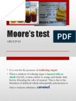 Moore's Test