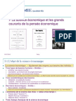 Science Eco Gds Courants Pensee