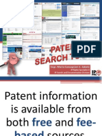 Patent Search Tools