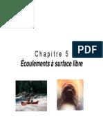 Chap5 Exmple d'Aplication de Cacul Des Remous