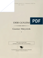 Gustav Meyrink - Der Golem