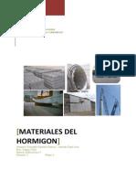 Materiales Del Hormigon Tapia Sanches