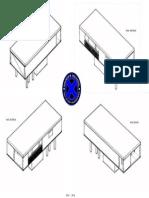 Ejercicio Perspectiva Isométrica Autocad (Todas Las Vistas)