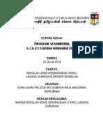 Kertas Kerja Program Senamrobik