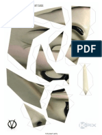 Papercraft Guyfawkes Mask