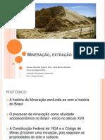 Mineração, Extração de Areia