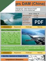 Project Management - 3 Gorges Dam