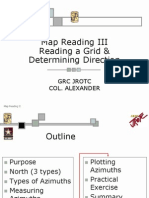 Map Reading 2 Plotting