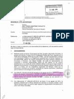 Respuesta del MEF  al pedido del Centro de Información Abierta LIBER para acceder a los correos cursados entre el Ministro Castilla y empresarios sobre temas de interés público
