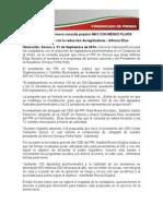 01-09-14 Lanza PRI en Sonora consulta popular MÁS CON MENOS PLURIS