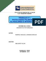 Trabajo 1 - Patologías Alveolares y Intersticiales