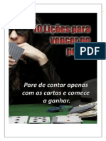 10 Lições Para Vencer No Poker - PokerNaChapa.com.Br
