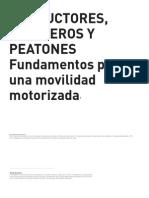 2012_CA 151_Conductores, Pasajeros y Peatones. Fundamentos Para Una Movilidad Motorizada