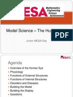 Model Science the Human Eye