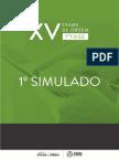Original Oab Xv Exame 1 Simulado Completo