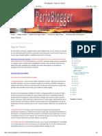 PerfoBlogger_ Pega de Tubería