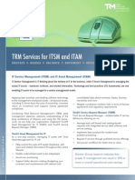 TRM Services for ITSM and ITAM Brochure