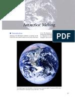 Antarctica Melting