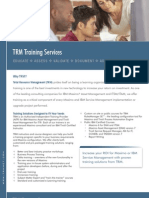 TRM Training Services Brochure