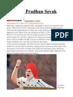 Bharat's Pradhan Sevak