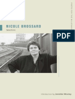 Nicole Brossard Selections